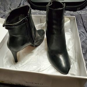 Short high heel boots by Nine West